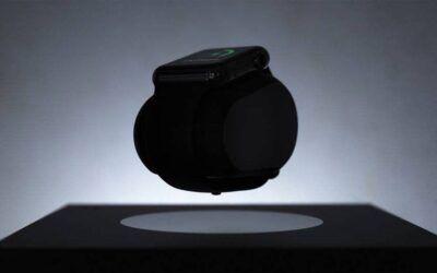 ساعة Apple Watch تشحن بتقنية التحليق,حيث تضفي لوحة فنية رائعة من المستقبل