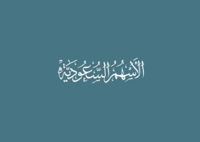 الاسهم السعودية تصميم الجيل الرابع